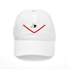 Clark Lanes_pocket_logo black lettering Baseball Cap