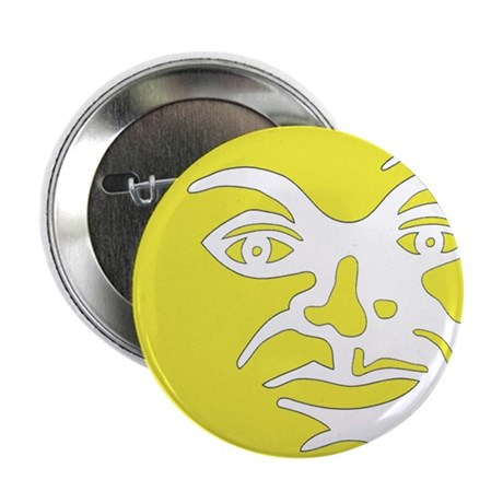 """Man in moon 2.25"""" Button"""