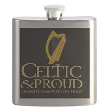 CP Eire Harp Mousepad Flask