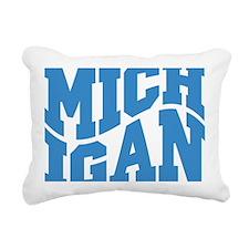Michigan Rectangular Canvas Pillow