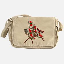 Heraldic Midrealm Cavalry Messenger Bag
