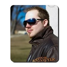 Justin The Mystifyer Mousepad