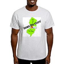 Down the shore umbrella T-Shirt