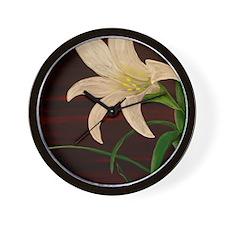in blossom Wall Clock