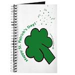 Shamrock and Confetti Journal