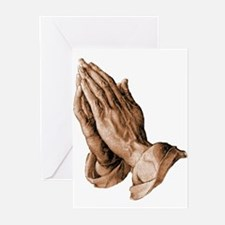 Durer's Praying Hands Greeting Cards