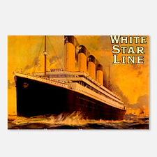 TG GoldBord NoteCard-1 Postcards (Package of 8)