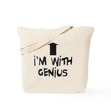im with genius Tote Bag