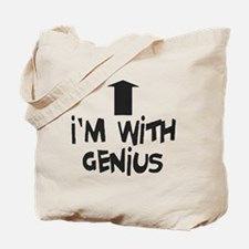 im with genius Tote Bag