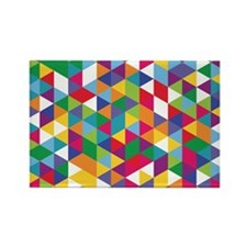 Isometric Pillowcase Rectangle Magnet
