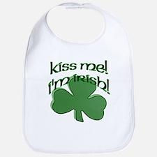 Kiss me, I'm Irish! Bib