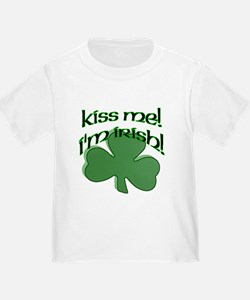 Kiss me, I'm Irish! T