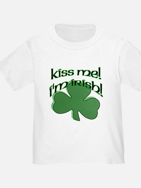 Kiss me, I'm Irish! T