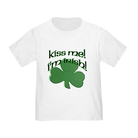 Kiss me, I'm Irish! Toddler T-Shirt