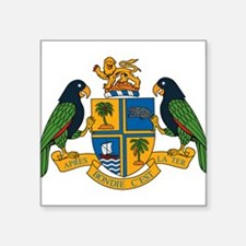Dominica Coat of Arms Rectangle Sticker