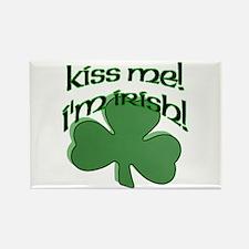 Kiss me, I'm Irish! Rectangle Magnet