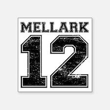 "Dist12_Mellark_Ath Square Sticker 3"" x 3"""