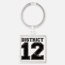 Dist12_Ath Square Keychain