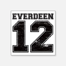 "Dist12_Everdeen_Ath Square Sticker 3"" x 3"""