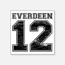 "Dist12_Everdeen_Ath Square Sticker 3"" x 3"""
