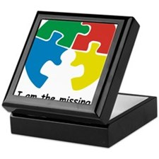 missing piece Keepsake Box