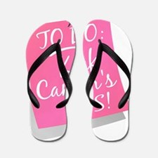 - To Do - Kick Cancers Ass Breast 2 Flip Flops