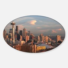 Seattle Space Needle Skyline Decal