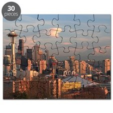 Seattle Space Needle Skyline Puzzle