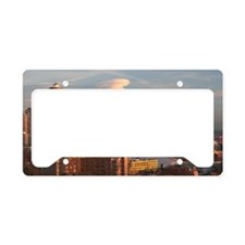 Seattle Space Needle Skyline License Plate Holder