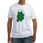 Shamrock and Confetti Fitted T-Shirt