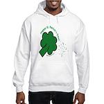 Shamrock and Confetti Hooded Sweatshirt