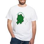Shamrock and Confetti White T-Shirt