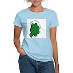 Shamrock and Confetti Women's Light T-Shirt