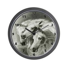 Pharaohs Horses 2014 Wall Clock