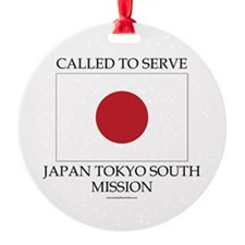 Japan Tokyo South Mission - LDS Mission Ornament