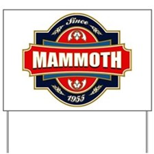 Mammoth Mtn Old Label Yard Sign