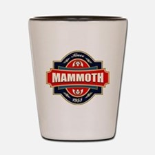 Mammoth Mtn Old Label Shot Glass