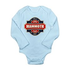 Mammoth Mtn Old Label Long Sleeve Infant Bodysuit