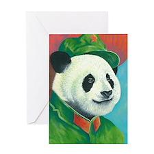 Citizen Panda Greeting Card