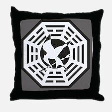 dharmajay-poster Throw Pillow