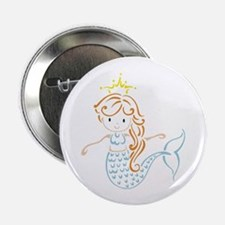 "Marmaid Fairy 2.25"" Button (10 Pack)"