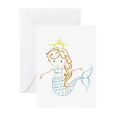 Marmaid Fairy Greeting Cards