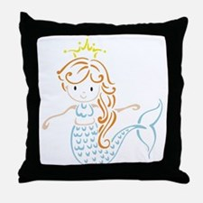 Marmaid Fairy Throw Pillow