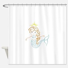 Marmaid Fairy Shower Curtain