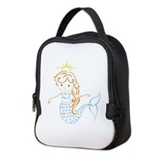Marmaid Fairy Neoprene Lunch Bag