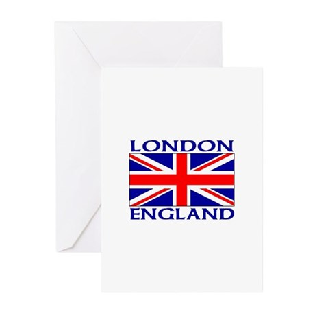 londonujwht Greeting Cards