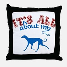 Sloughi Throw Pillow