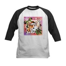 Pembroke Corgi Holiday Baseball Jersey