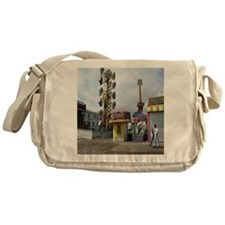 rehoboth beach pixels 4000 Messenger Bag