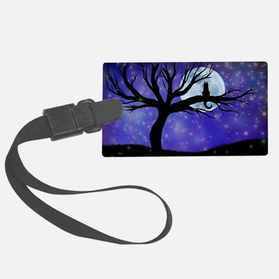 Cosmic Cat Luggage Tag